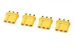 G-Force RC - Connector - MR-30PB 3-Polig - Goldkontakten - Buchse - 4 St GF-1087-003
