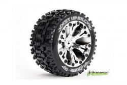 Louise RC - ST-UPHILL - 1-10 Stadium Truck Reifen - Fertig Verklebt - Soft - 2.8 Felgen Chrom - BB - GP JATO 2WD Vorder - GP STAMPEDE 2WD Vorder - GP