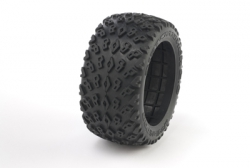 Medial Pro - Tyres w/ Foam inserts Dirt Crusher 2.8  , fits all Addict 2.8 Rims MP-2440