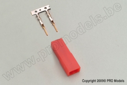 Protech RC - Bec Connector Female 5Pcs PL267