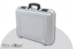 Rocabox - Universal Koffer - RP-4028-11-GE - Silber - Noppenschaum RP-4028-11-GE