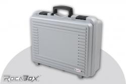 Rocabox - Universal Koffer - RP-4028-14-GE - Silber - Noppenschaum RP-4028-14-GE
