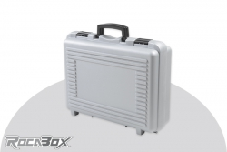 Rocabox - Universal Koffer - RP-4632-14-GE - Silber - Noppenschaum RP-4632-14-GE