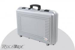 Rocabox - Universal Koffer - RP-5735-13-GE - Silber - Noppenschaum RP-5735-13-GE