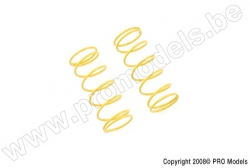 Ishima Racing - Shock Spring Front 1.3mm (Yellow) RVB-S018