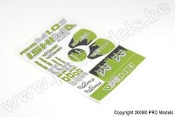 Ishima Racing - Sticker Sheet Rave M1.0S RVB-S092-S