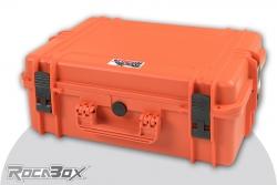 Rocabox - Universal Koffer - Wasserdicht IP67 - Orange - RW-5035-19-OF - Würfelschaumeinlagen RW-5035-19-OF