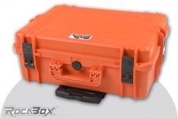 Rocabox - Universal Trolley Koffer - Wasserdicht IP67 - Orange - RW-5035-19-OFTR - Würfelschaumeinlagen RW-5035-19-OFTR