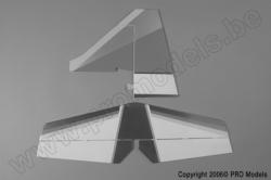 Protech RC - Tail Set Tojeiro 50 T0405.4