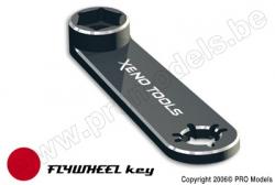 Xenotools - Schwungscheibe und 17mm Radmutter Schlüssel - 1 St XT-15102