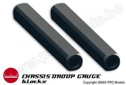 Xenotools - Chassisunterlegblöcke 1/10 - 10mm - 1 St XT-2003