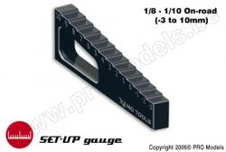 Xenotools - Stufenmesskeil 1/8 - 1/10 - -3mm to 10mm - 1 St XT-2101