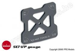 Xenotools - Sturz-Winkelmesser 1/10 - 1 St XT-24110