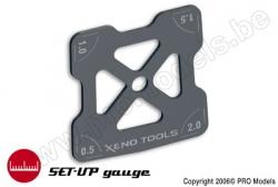 Xenotools - Sturz-Winkelmesser 1/8 - 1 St XT-24180