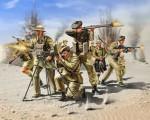 Scottisch Infantry 8th Army W Revell 02512