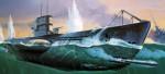 U-Boot U-99 Revell 05054