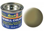 gelb-oliv, matt Revell 32142