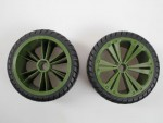 2 x Räder grün, groß (Buggy) Revell 47028