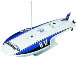 AquaCraft Mini Thunder Hydro Rennboot 2.4 RTR Blau AQUB46BB