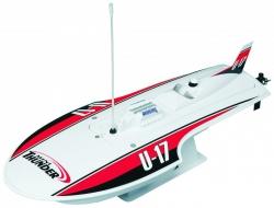 AquaCraft Mini Thunder Hydro Rennboot 2.4 RTR Rot AQUB46RR