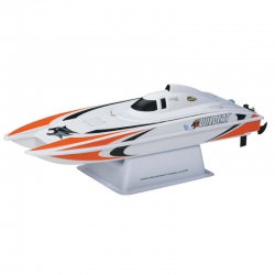 AquaCraft Mini Wildcat Katamaran 2.4GHz RTR Orange AQUB47NN