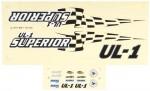 AquaCraft Dekorbogen UL-1 Superior AQUB6302