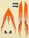 Aquacraft Decal Sheet Orange Mini Rio AQUB6325