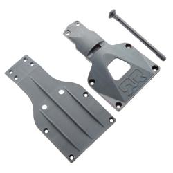 Chassisplatte, vorne & Servoabdeckung/Akkuverrieg. AR320203