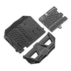 Dämpferhalter & ESC-Befestigungsplatte NERO AR320252