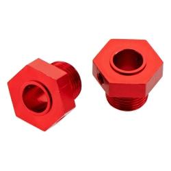 Radmitnehmer 17mm-Sechskant, Alu, rot (2) NERO AR330359