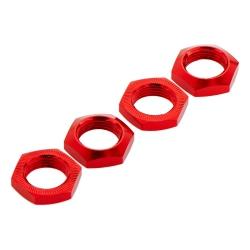 Radmutter 17mm, Alu, rot (4) NERO AR330360