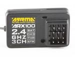 ARRMA ARX100 Empfänger 2,4GHz 3-Kanal AR390064