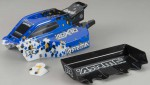 Karosserie & Flügel ADX-10 Pixel (Blau) (fertig AR402051