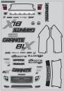 Arrma Granite Body Decals - 2014 Sp AR490039