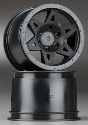 Felge Raider hinten, schwarz AR510008