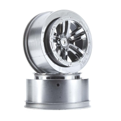 Arrma Wheel Fury (Chrome) (2Pcs) AR510045