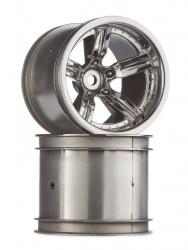 Arrma Wheel Vorteks (Chrome) (2Pc AR510054