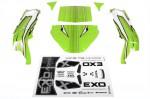 Karosserie EXO Terra Buggy grün AX04036
