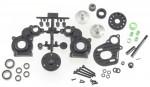 Getriebe, komplett AX10, SCX10 AX30487
