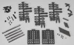 SCX10 TR Alu Link Upgrade Set (WB 290mm) Dingo AX30549