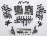 SCX10 TR Alu Link Upgrade Set (WB 313mm) AX30550