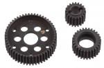 Getriebezahnrad Set, Metall SCX10, WRAITH, AX10 AX30708