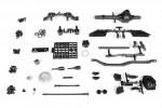 AR60 OCP Vorderachse, komplett WRAITH/AX10 AX30831