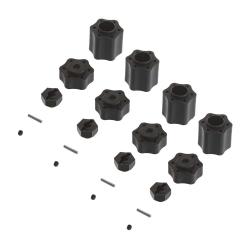 Radmitnehmer IFD 12mm-Adapter Set (4) AX31074