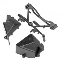 RR10 Akkuhalter Chassis-Komponenten Set AX31318