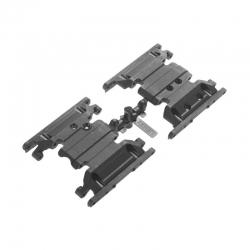 SCX10 II Skid Platte Getriebe AX31379