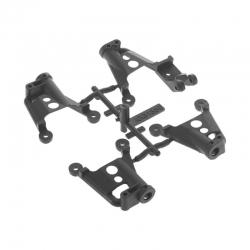 SCX10 II Dämpferhalterung & Karosseriehalter AX31380