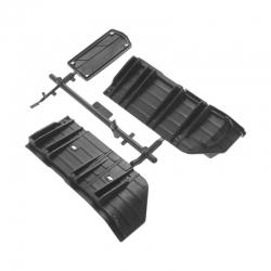 SCX10 II Halterung seitlicher Rammschutz AX31385