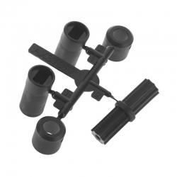 WB8-HD Kardan, kurz, Kunststoffteile Set AX31397