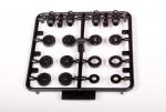 10mm Dämpfer Kolbenplatten & Zubehör AX80033